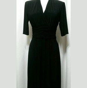 Evan Picone black dress 10